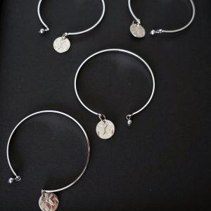 Stainless steel brangle bracelet GG UNIQUE
